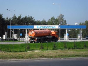 Six Container Waste Water Receipt at EUROZLEWNIA 2