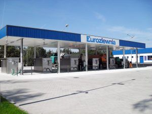 Six Container Waste Water Receipt at EUROZLEWNIA 1